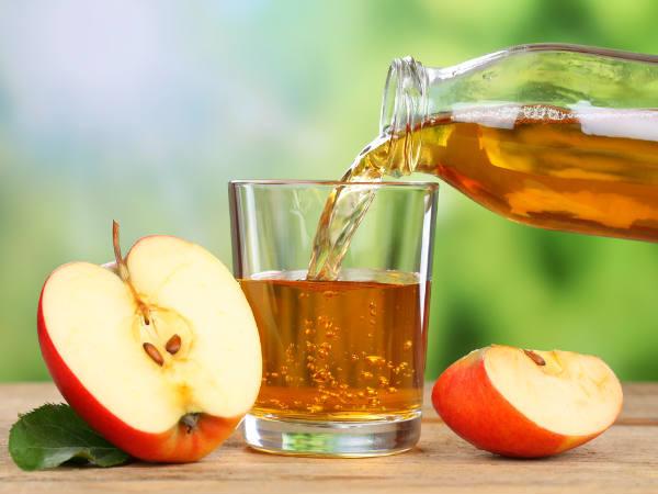làm trắng răng siêu tốc với dấm táo